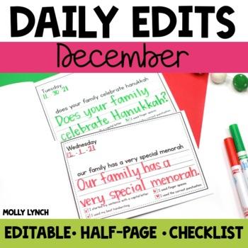 December Daily Edits