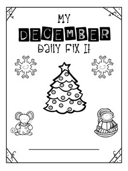 December - Daily Fix It
