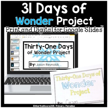 December Daily Journal: Thirty-One Days of Wonder: Print, Cut, Go!