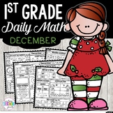 December Daily Math (1st Grade) - Use for morning, homewor
