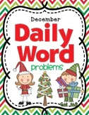 Christmas Free | December Daily Math