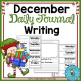 December Daily Quick Writes Writing Journal
