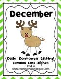 December Daily Sentence Editing