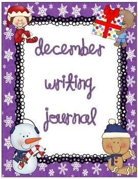 December Daily Writing Journal