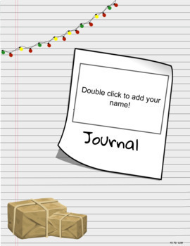 December Daily Writing Journal (6-12)