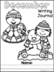 December Daily Writing Journal Prompts for Beginning Writers