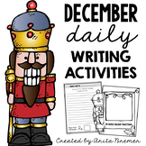 December Daily Writing Prompts {Christmas themed}