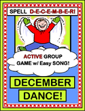 """December Dance!"" - Group Game for Active Winter Holiday Fun!"