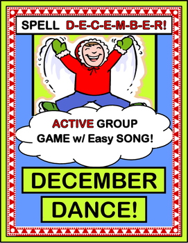 """""""December Dance!"""" - Group Game for Active Winter Holiday Fun!"""