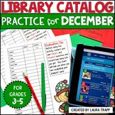 Destiny  Library Catalog Practice: December Edition