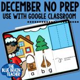 December Digital Centers for Kindergarten Digital Learning