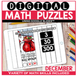 December Digital Math Puzzles