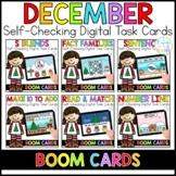December Digital Task Cards | Boom Cards™ | Distance Learning