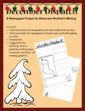 December Dispatch Newspaper Template