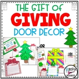 December Door Decor Christmas Bulletin Board
