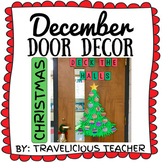 December Door Decor: CHRISTMAS FREEBIE