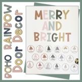 December Door Merry And Bright editable