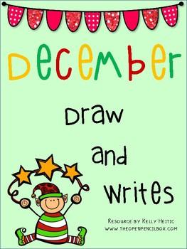 December Draw Then Write