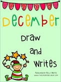 December Draw Then Write