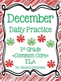 December ELA Daily Practice {Common Core}