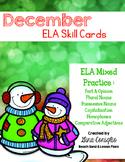 December ELA Skill Cards