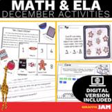 December ELA and Math Activities