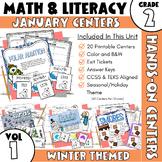 January Centers--2nd Grade Math and ELA