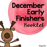 Early Finishers December Booklet