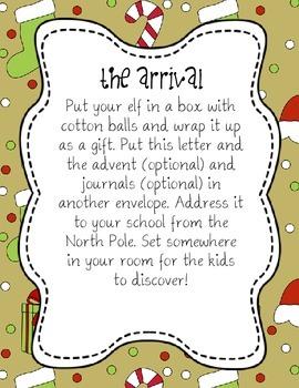 December Elf Journal & Advent