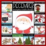 December Emergent Reader BUNDLE