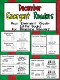 December Emergent Readers - A Book for Each Week- Christmas, Winter Holidays
