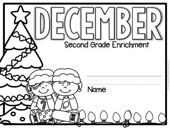 December Enrichment/Early Finishers*Second Grade*