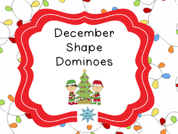 December Shape Dominoes