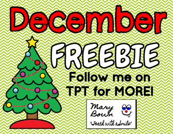December FREEBIE!!