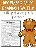 December FSA Daily Reading Packet **3 Weeks Only**