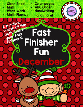 December Fast-Finisher Pack