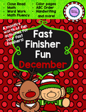 December Fast-Finisher Pack