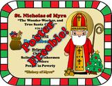December Feast Day Catholic Saint Poster - Saint Nicholas of Myra