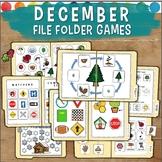 December File Folder Games