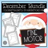 December Fine Motor Center Materials