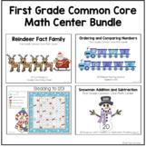 December Math Center Bundle