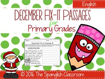 December Fix-it Passages