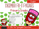December Fix-it Passages