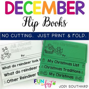 December Flip Books