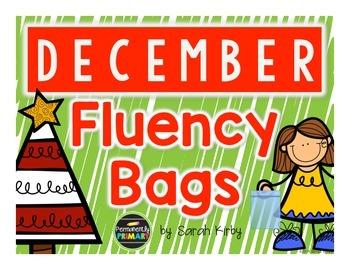 December Fluency Bags