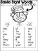 December Fluency No Prep First 100 Fry Words