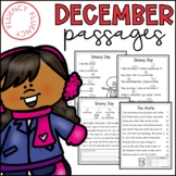 December Fluency Passages (Differentiated)