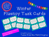 Winter Reading Fluency Task Cards Nonfiction