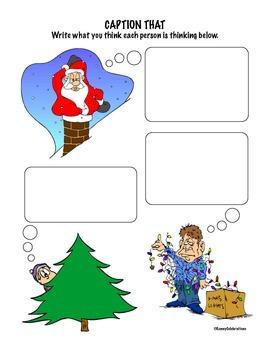 December / Christmas Printable Activities Fun Pack