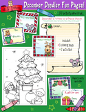 December Fun Pages - Coloring and Activity Download - Dist